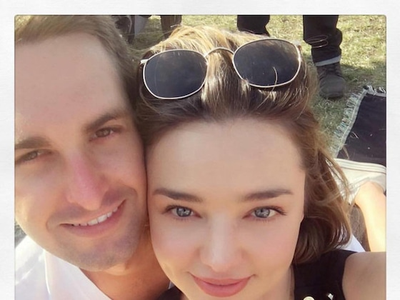 Evan Spiegel Gushes Over Life at Home With Miranda Kerr and Their Newborn Baby