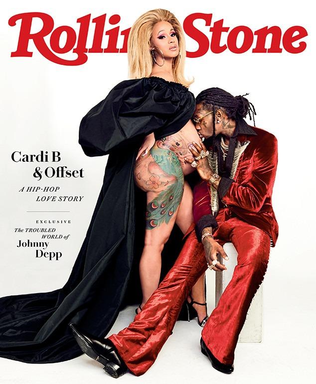 Cardi B, Offset, Rolling Stone, July 2018