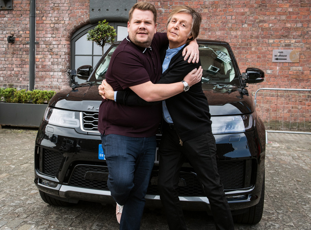 James Corden, Paul McCartney, Carpool Karaoke