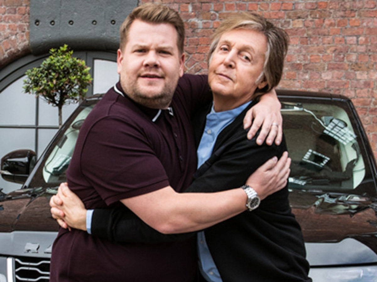 James Corden's Carpool Karaoke With Paul McCartney Is an Emotional Drive Down Memory—and Penny!—Lane