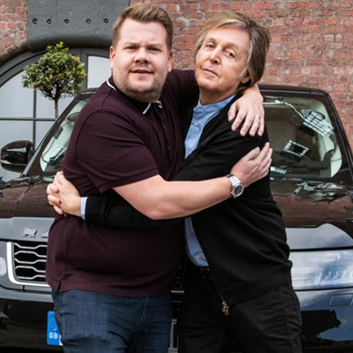James Corden S Carpool Karaoke With Paul Mccartney Is An Emotional