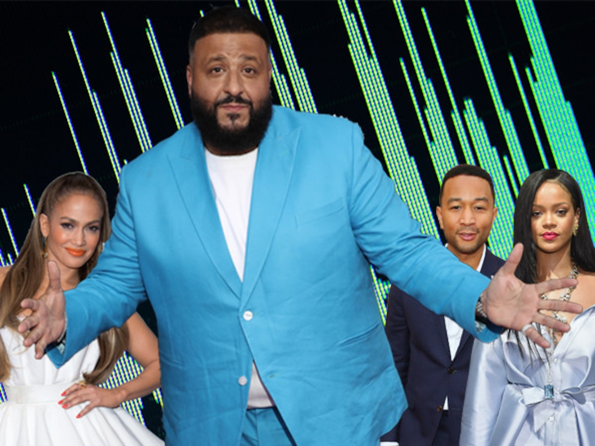 DJ Khaled's Endless List of Star Collaborators Is Seriously Impressive
