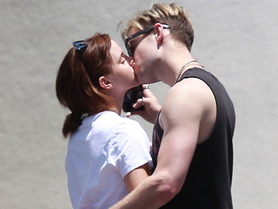 Emma Watson and Chord Overstreet Confirm Their Romance With a Kiss