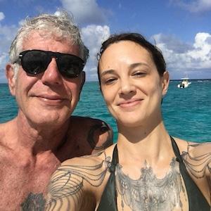 Anthony Bourdain, Asia Argento