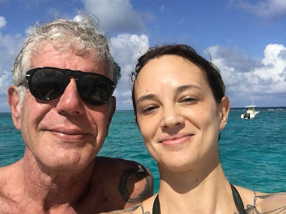 "Tearful Asia Argento Says She ""Was Angry"" at Anthony Bourdain After His Suicide"