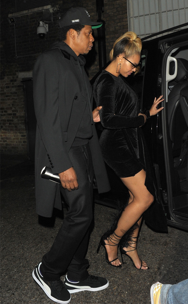 Beyonc 233 And Jay Z Have Date Night At Elite London Club
