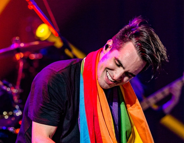 Brendon Urie From Musicians Performing Live On Stage E News