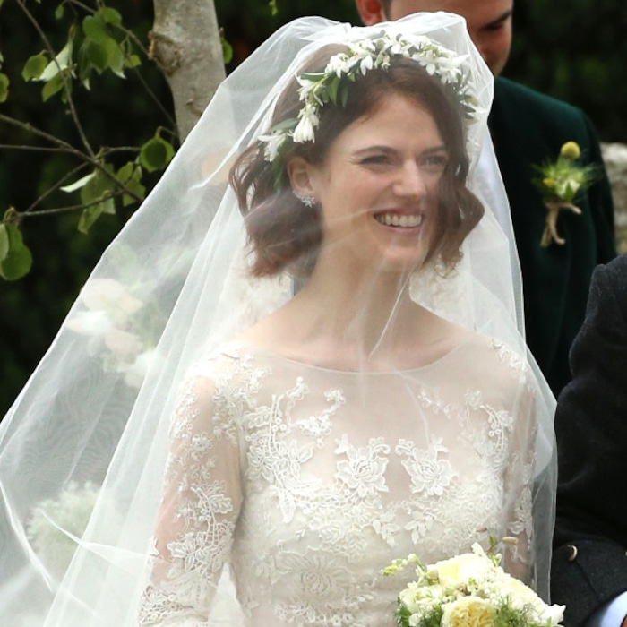 Sims 4 Wedding Veil.Rose Leslie Wears Stunning Lace Dress To Her And Kit Harington S