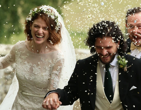 Game of Thrones' Kit Harington and Rose Leslie Are Married