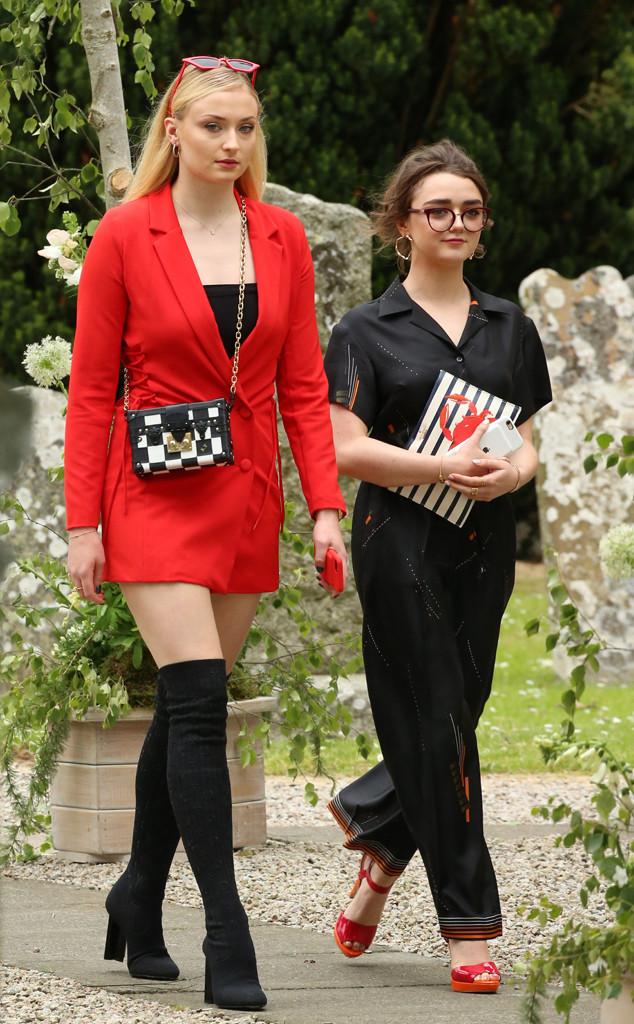 Game Of Thrones Stars Unite At Kit Harington S Wedding