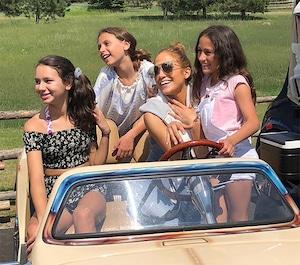 Jennifer Lopez, Emme, Daughter, Alex Rodriguez, Natasha, Ella
