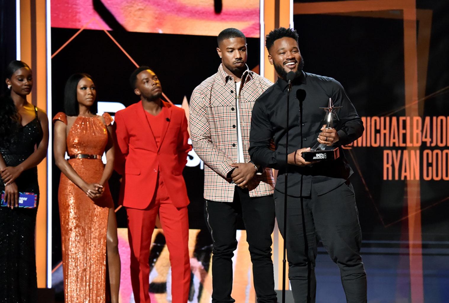 Michael B. Jordan, 2018 BET Awards, Winners
