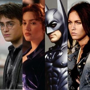 Daniel Radcliffe, Kate Winslet, George Clooney, Megan Fox