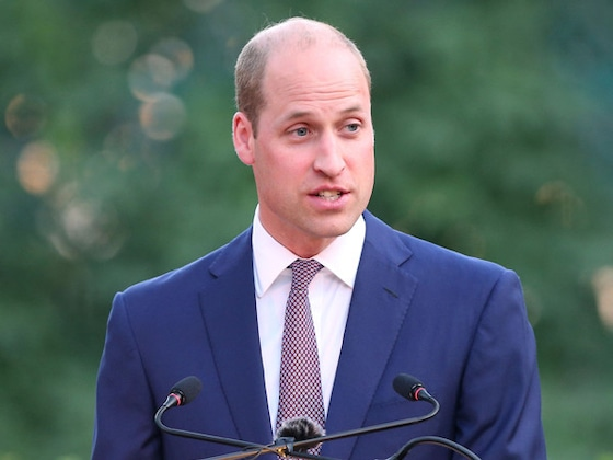 Prince William Visits Tech Lab in Jordan and Expresses Hope for His Kids to Learn to Code