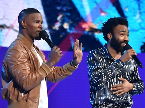 Jamie Foxx's Wildest Hosting Moments From the 2018 BET Awards