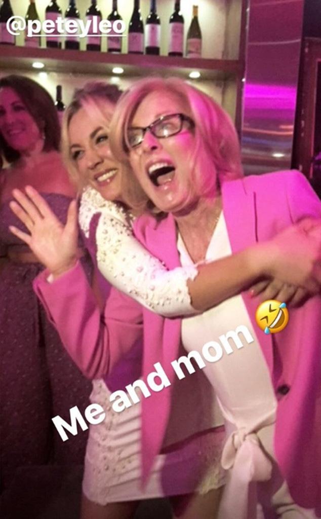 Kaley Cuoco, Bachelorette Party, Mom