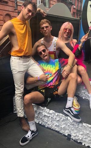 Brandon Flynn, Pride Parade