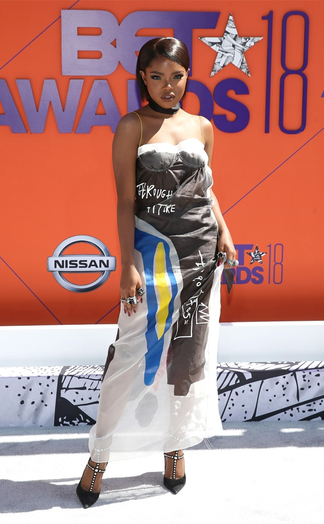 Ryan Destiny, 2018 BET Awards, Best Dressed