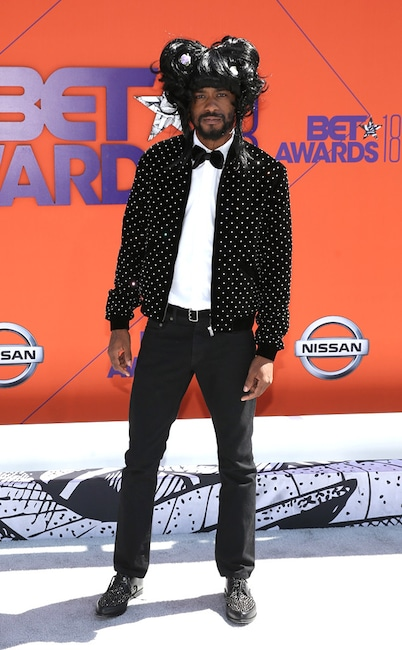 ESC: Lakeith Stanfield, 2018 BET Awards, Worst Dressed