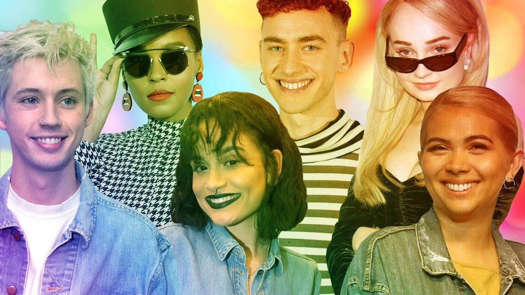 LGBTQ Pop Stars