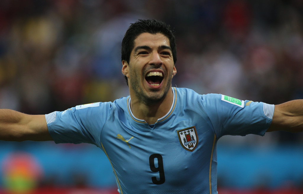 Seleccion Uruguay, Luis Suarez