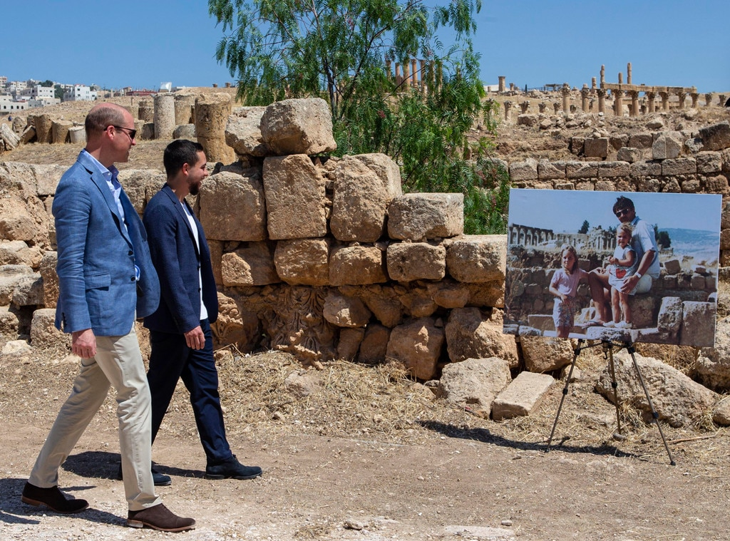 Prince William Sees Photo Of Wife In Jordan