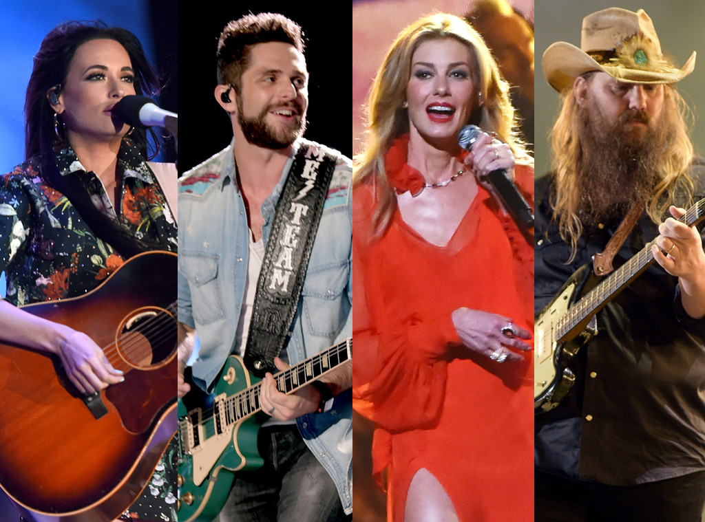 Best Country Music Singer Poll, Kacey Musgraves, Thomas Rhett, Faith Hill, Chris Stapleton