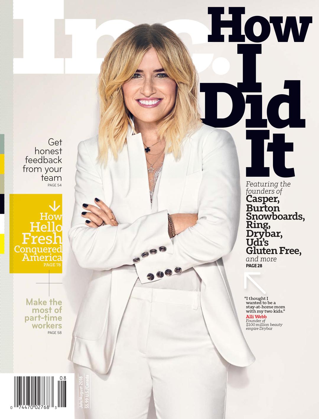 ESC: Alli Webb, Inc Magazine