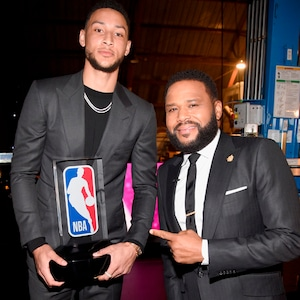 Ben Simmons, Anthony Anderson