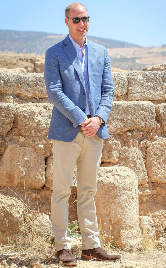 Prince William, Jordan