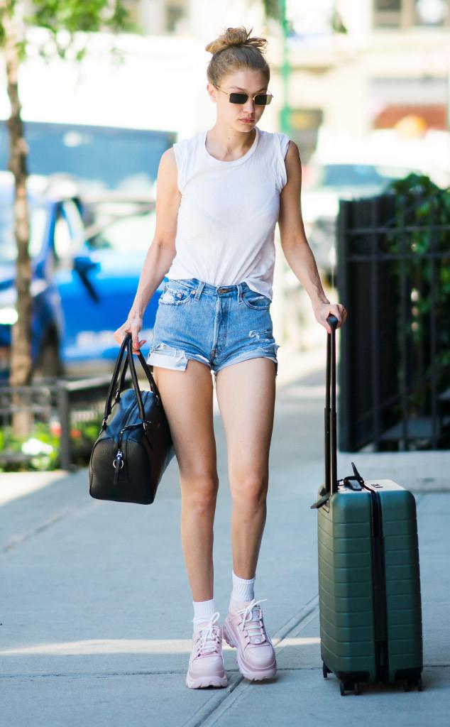 ESC: Gigi Hadid, Shorts