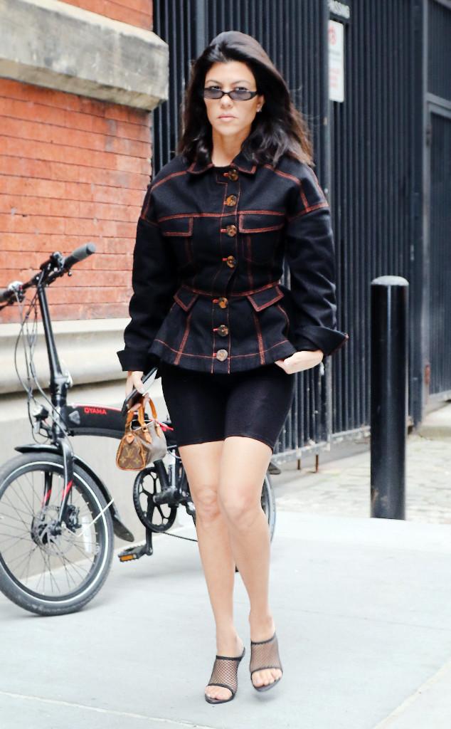 ESC: Kourtney Kardashian, Shorts