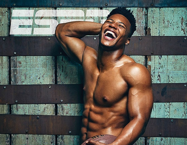 Saquon Barkley from Athletes Pose Nude for ESPN the
