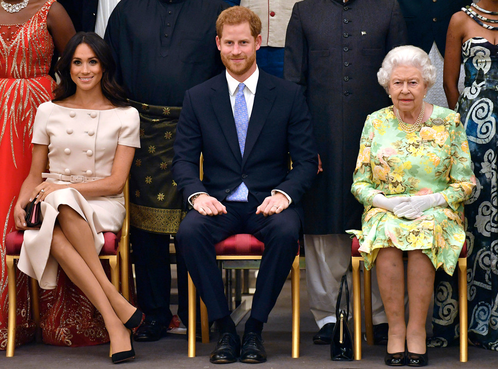 Meghan Markle, Duchess of Sussex, Prince Harry, Queen Elizabeth II