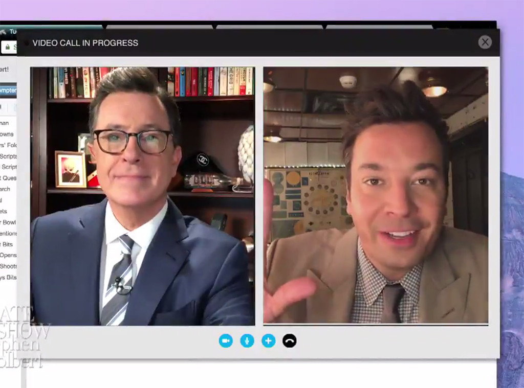 Stephen Colbert, Jimmy Fallon