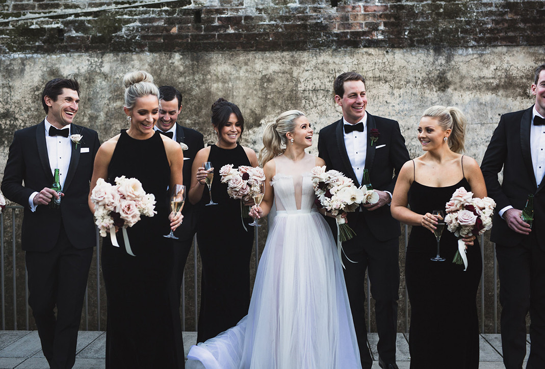 Emma Freedman, Charlie Rundle, Wedding