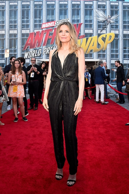 Michelle Pfeiffer, Ant-Man and the Wasp Premiere