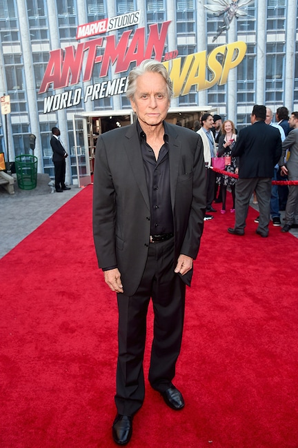 Michael Douglas, Ant-Man and the Wasp Premiere