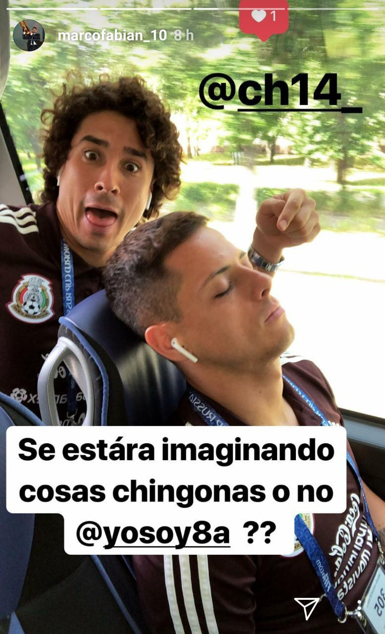Chicharito, Mexico