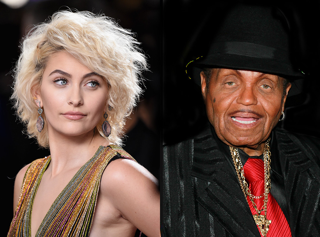 Paris Jackson, Joe Jackson