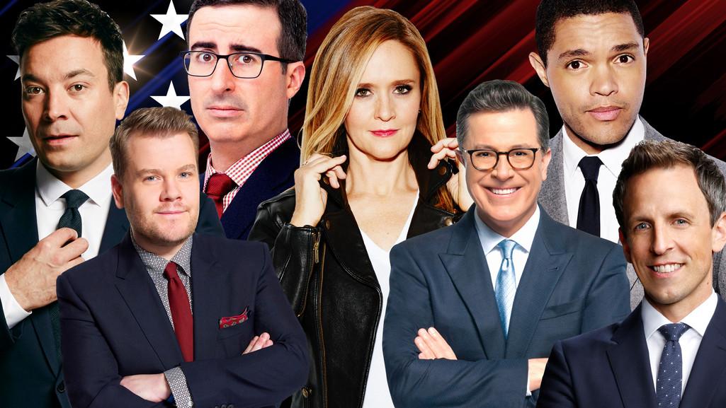 Late Night Hosts, Politics