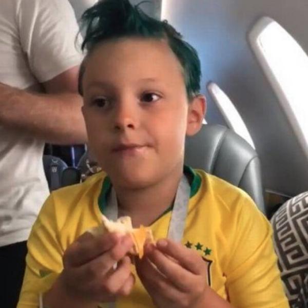Davi Lucca, filho Neymar