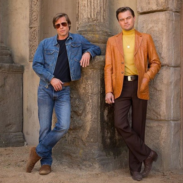 Leonardo DiCaprio, Bradd Pitt, Once Upon a Time in Hollywood
