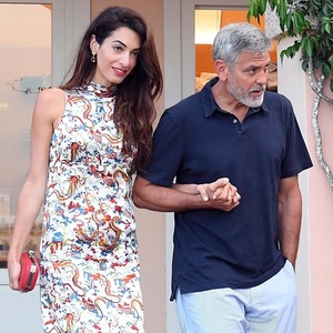 George Clooney, Amal Clooney, Sardinia
