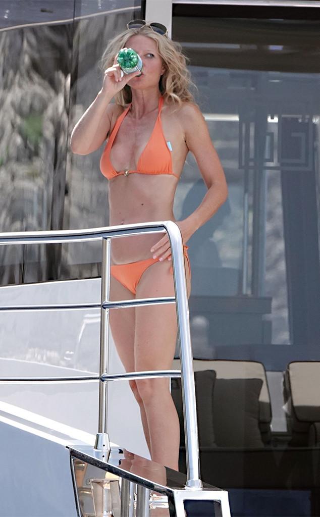 Gwyneth Paltrow, Brad Falchuk, Bikini