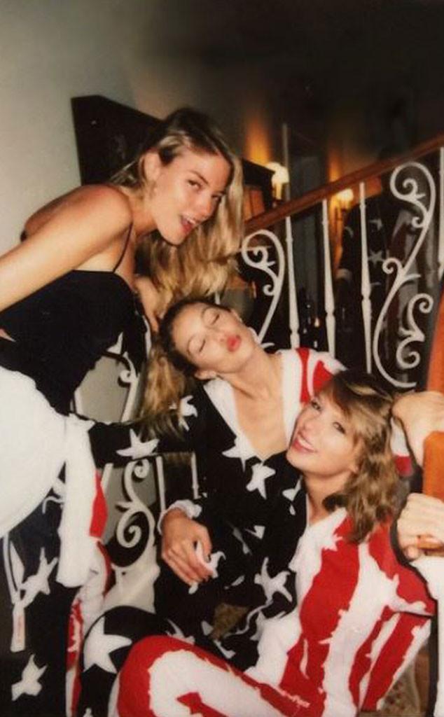 Taylor Swift, 4th of July, Martha Hunt, Gigi Hadid, Style