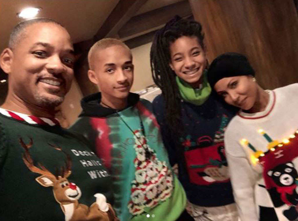 Will Smith, Jada Pinkett Smith, Jaden Smith, Willow Smith, Parents Day