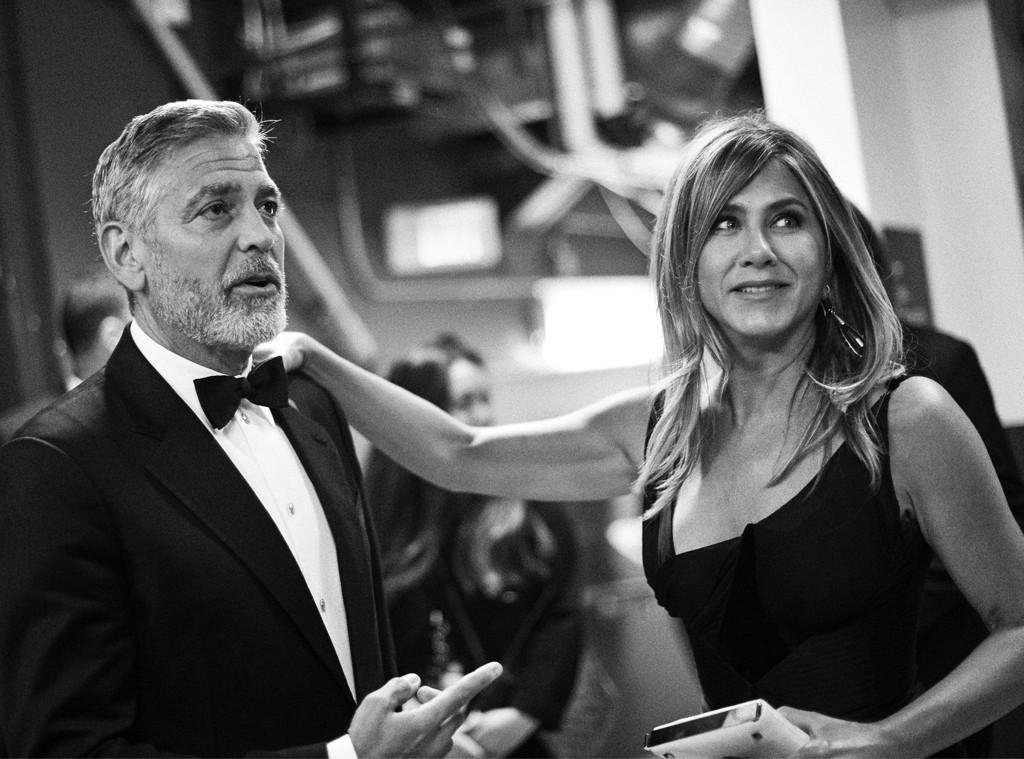 George Clooney, Jennifer Aniston, 2018 AFI Lifestyles Success Award Gala