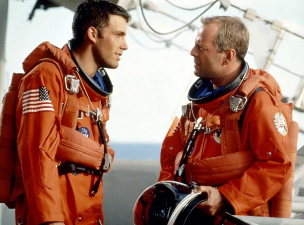 Armageddon, Bruce Willis, Ben Affleck