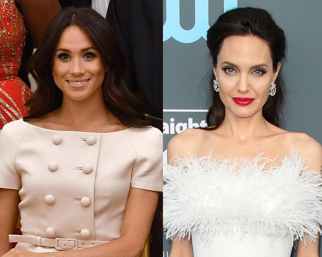 Meghan Markle, Angelina Jolie